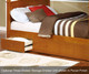 Allen House Brandon Bunk Bed with Stairs White   Allen House   AH-J-TT-01-STR-T-J