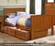 Allen House Brandon Bunk Bed with Stairs Espresso | Allen House | AH-J-TT-06-STR-T-J