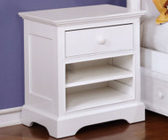 Allen House Nightstand White | Allen House | AH-W1001-01
