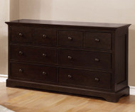 Allen House 8 Drawer Dresser Graphite Grey | Allen House | AH-W1008-09