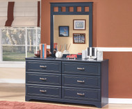 Leo 6 Drawer Dresser | Ashley Furniture | ASB103-21