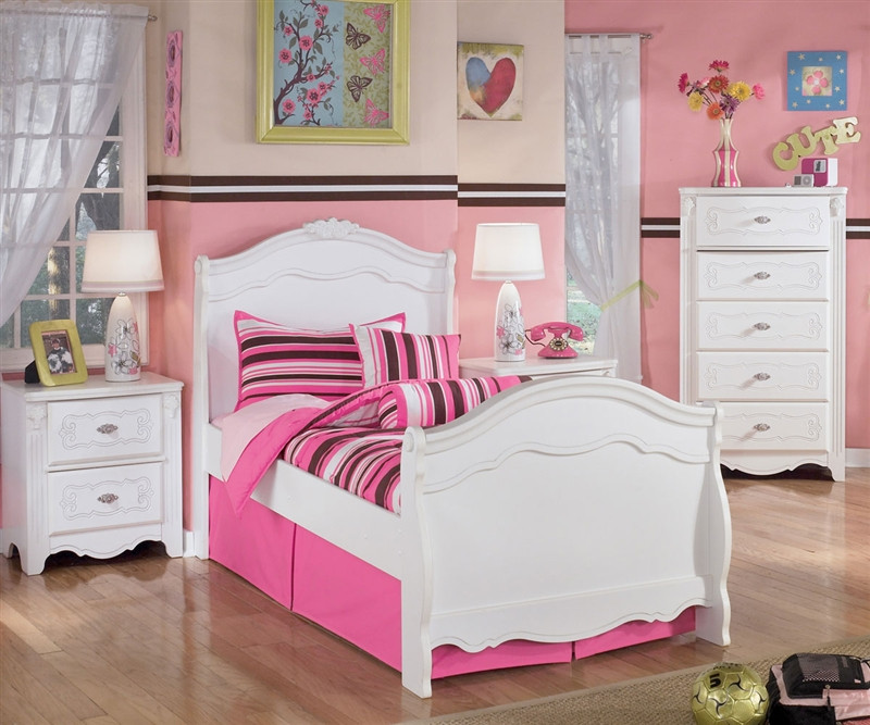 Ashley Furniture Exquisite Twin Sleigh Bed Kids Exquisite Twin