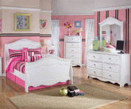 Exquisite Full Size Sleigh Bed   Ashley Furniture   ASB188-848788N