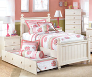 Cottage Retreat Twin Poster Bed with Trundle | Ashley Furniture | ASB213-52NX50