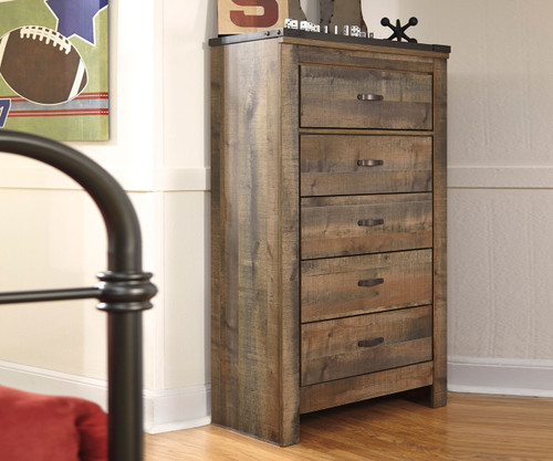 Trinell 5 Drawer Chest | Ashley Furniture | ASB446-46