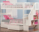 Woodland Stair Bunk Bed White | 24064 | ATL-AB56602
