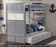 Nantucket Bunk Bed Driftwood Grey | 24077 | ATL-AB59108