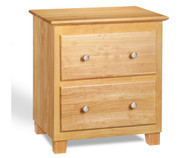 Atlantic Nightstand Natural Maple | Atlantic Furniture | ATL-C-68205