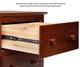 Atlantic 6 Drawer Dresser Natural Maple   24349   ATL-C-68655