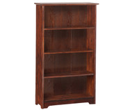 Atlantic 4 Tier Bookcase Antique Walnut | Atlantic Furniture | ATL-C-69304