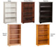 Atlantic 4 Tier Bookcase Natural Maple | Atlantic Furniture | ATL-C-69305