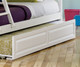 Columbia Twin over Full Staircase Bunk Bed White | Atlantic Furniture | ATLCOL-SSTF-WH
