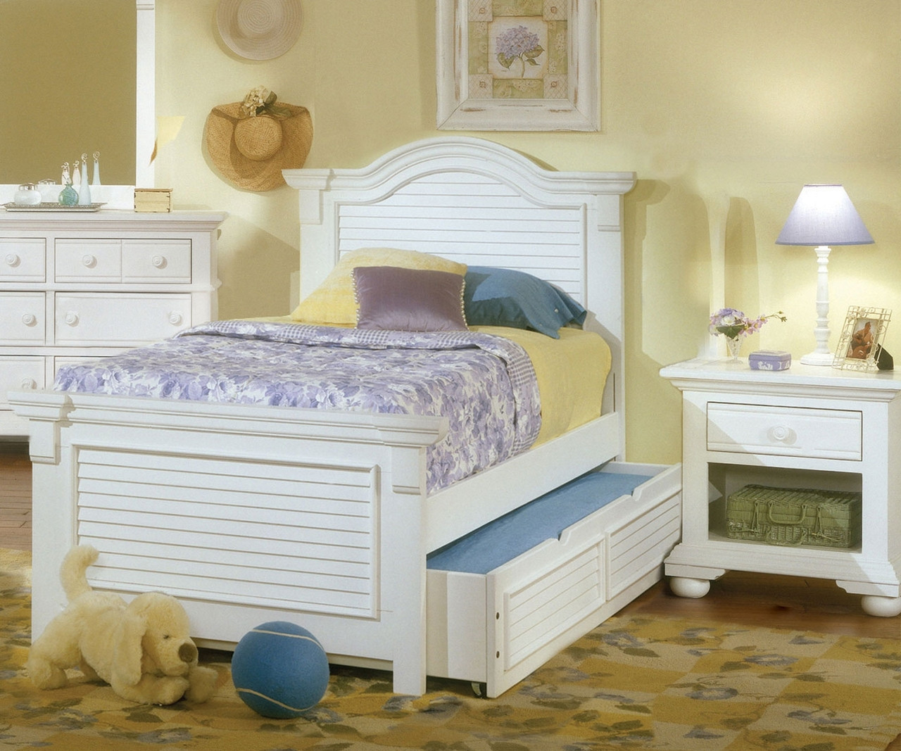 Wondrous Cottage Traditions Panel Bed Full Size Best Image Libraries Counlowcountryjoecom