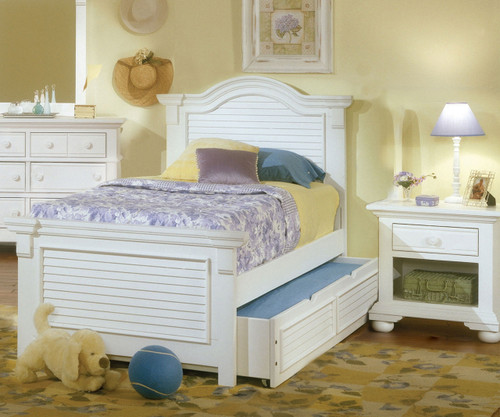 Cottage Traditions Panel Bed Full Size | American Woodcrafters | AW6510-46PAN