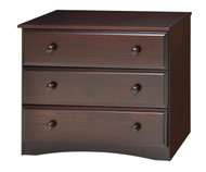 Camaflexi 3 Drawer Dresser Cappuccino | Camaflexi Furniture | CF-4142