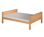 Camaflexi Low Platform Bed Full Size Natural 1 | Camaflexi Furniture | CF-E1421
