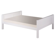Camaflexi Low Platform Bed Full Size White 1 | Camaflexi Furniture | CF-E1423