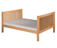 Camaflexi High Platform Bed Full Size Natural | Camaflexi Furniture | CF-E1511