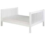 Camaflexi High Platform Bed Full Size White | Camaflexi Furniture | CF-E1513