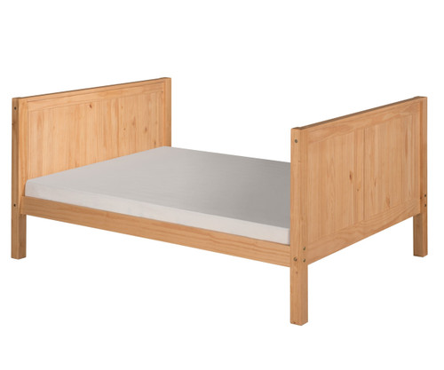 Camaflexi High Platform Bed Full Size Natural 1 | Camaflexi Furniture | CF-E1521