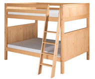 Camaflexi High Bunk Bed Full Size Natural 3 | Camaflexi Furniture | CF-E1621A