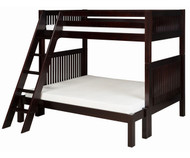 Camaflexi High Bunk Bed Twin over Full Size Cappuccino | Camaflexi Furniture | CF-E1712A