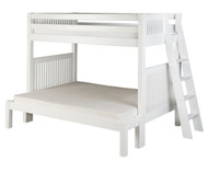 Camaflexi High Bunk Bed Twin over Full Size White 1 | Camaflexi Furniture | CF-E1713L