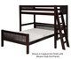 Camaflexi L-Shaped High Loft Bed Twin over Full Size White | Camaflexi Furniture | CF-E1913L
