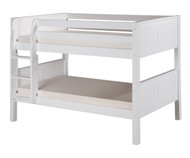 Camaflexi Low Bunk Bed Twin Size White 5 | Camaflexi Furniture | CF-E2023