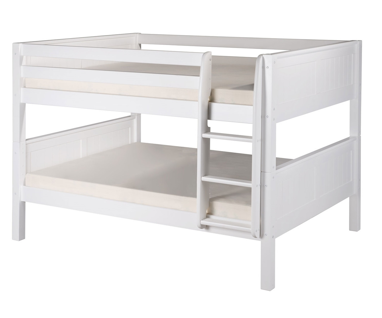 Picture of: Camaflexi Full Over Full Bunk Bed In White Finish E2223 Camaflexi Furniture Solid Wood Kids Furniture