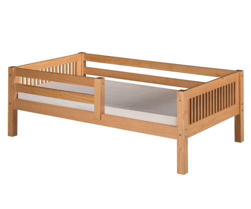 Camaflexi Day Bed with Front Safety Rail Natural | Camaflexi Furniture | CF-E311