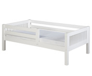 Camaflexi Day Bed with Front Safety Rail White 1 | Camaflexi Furniture | CF-E313