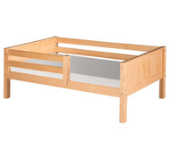 Camaflexi Day Bed with Front Safety Rail Natural 1 | Camaflexi Furniture | CF-E321