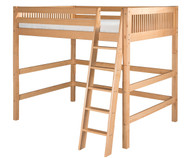 Camaflexi High Loft Bed Full Size Natural | Camaflexi Furniture | CF-E611F