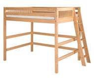 Camaflexi High Loft Bed Full Size Natural 1 | Camaflexi Furniture | CF-E611LF