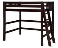 Camaflexi High Loft Bed Twin Size Cappuccino 2 | Camaflexi Furniture | CF-E612L
