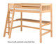 Camaflexi High Loft Bed Twin Size White 1 | 24707 | CF-E613