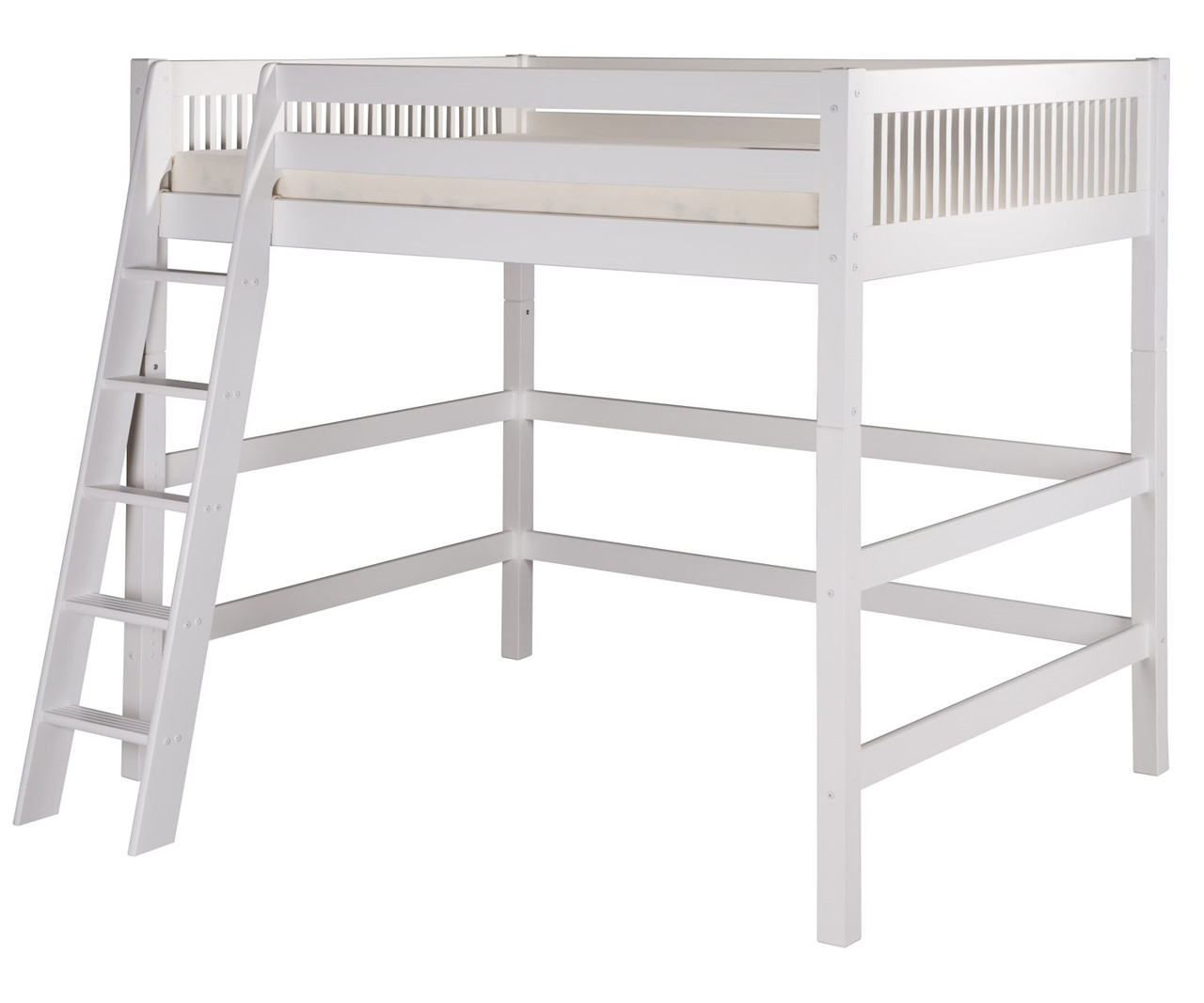 best authentic 52a4c 8f995 Camaflexi High Loft Bed Full Size White