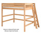 Camaflexi High Loft Bed Full Size White 1 | 24711 | CF-E613LF