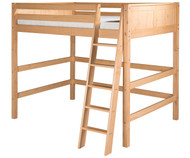 Camaflexi High Loft Bed Full Size Natural 2 | Camaflexi Furniture | CF-E621F