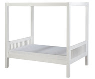 Camaflexi Canopy Bed Twin Size White 1 | Camaflexi Furniture | CF-E813