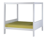 Camaflexi Canopy Bed Twin Size White 2 | Camaflexi Furniture | CF-E823