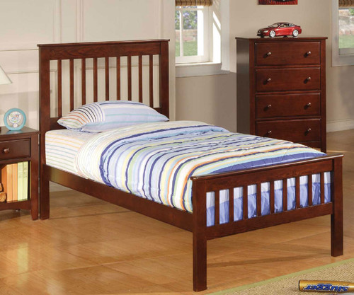 Parker Twin Size Slat Bed | Coaster Furniture | CS400290T