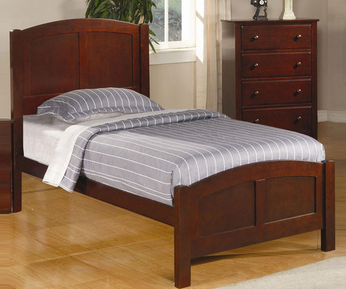 Parker Twin Size Panel Bed | Coaster Furniture | CS400291T