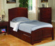 Parker Twin Size Panel Bed | 24804 | CS400291T
