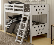 Circles Bunk Bed White | Donco Trading | DT1001TTW