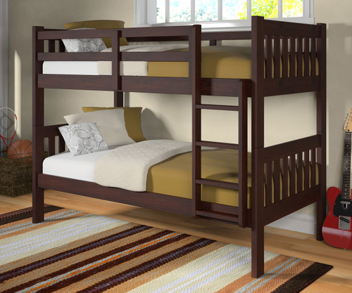 Manhattan Mission Bunk Bed | Donco Trading | DT1010CP