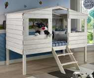 Tree House Loft Bed Twin Size   Donco Trading   DT1380TLRS