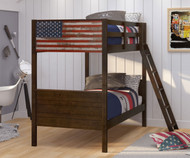 Patriot Bunk Bed | Donco Trading | DT1959-TTB