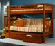Mission Stairway Futon Bunk Bed | Donco Trading | DT200-ABCDEFGH-300